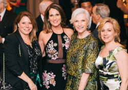 Robin Poulsen (Gotham Greens), Maggie Hughes (Big Green Chicago), Maye Musk (Kimbal and Elon's mom and supermodel) and Jennifer Tengelsen