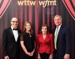 Geoffrey Baer, Sandra Cordova Micek, Renee Crown and Peter McNitt