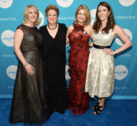 Event co-chair Kim Cornell, CEO/pres. UNICEF USA Caryl Stern, event co-chair, Midwest Board member Sheilah Burnham and managing director, Midwest UNICEF USA Elizabeth McCostlin