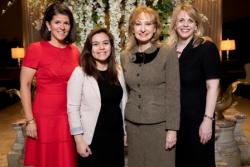 Meg Sauer, Nathalea Espinosa, Dr. Rosaly Lopes, Dr. Carsi Hughes