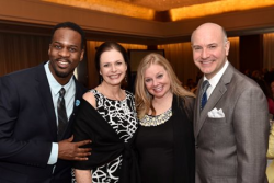 Chris Carter, Memphis choreographer and assistant director, executive director Jeannie Lukow, Guy Adkins Award Honoree Brenda Didier and artistic director Michael Weber.