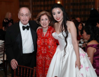 Bill and Ethel Gofen with Elizabeth Jia