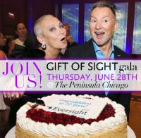 "Eversight Illinois ""Gift of Sight"" Gala on Thurs., June 28 at the Peninsula!"