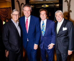 Rich Melman, Marc Schulman, Bill Marovitz and Stanley Paul