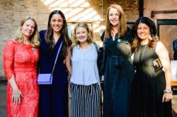 Alisa Road, Ariana Erickson, Alissa Groeninger, Emily Snider and Daphne Ortiz