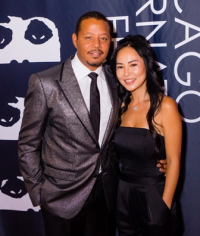 """Empire"" star Terrence Howard with his darling wife Miranda"