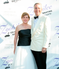 Bonnie Kaufman (Zoo Ball 2019 co-chair), Michael Kaufman