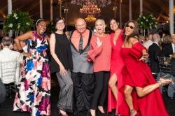 Gala fun with Shelita Shaw, Jennifer Schulze, Dina Bair and Cheryl Burton