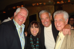 Chuck with Angela and Paul Murges and Jerry Ranelli (2nd from R)