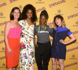 COO of Refinery29 Sarah Personette, Kelly Rowland, Yolanda Ross and Refinery29 co-founder Piera Gelardi