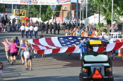 Patriotic Twilight Parade.