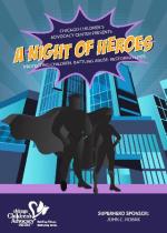 Heroes Digital Evite - front
