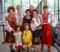 Maria Pappas at Ukranian Fest