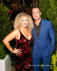 Beth Heller and Taylor Kinney