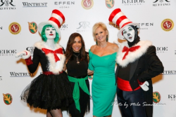 Tracey Tarantino DiBuouno and Kathy Piccone have some Seussical fun!