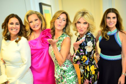 Hostesses with the mostest--Alexis Kertsikoff, Shauna Montgomery, Pam Stamataky, Mary Lasky and Mary Claire Moll