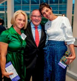 Jen Bryant, former Mayor Richard Daley and Eileen Rhodes