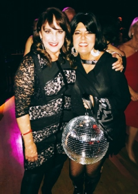 GDC founder/artistic director Nan Giordano with Best Female Dancer Tina Monaghan