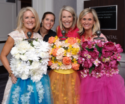 Spring was in the air for Misericordia's colorful fashion show/luncheon on May 11.