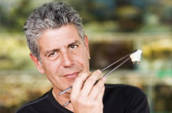 The late and much loved Anthony Bourdain