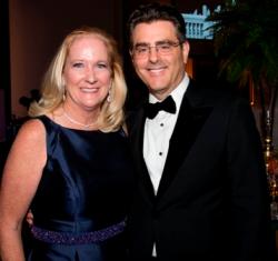 Past WB president Kathleen Klaeser and Dennis Klaeser