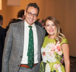 Co-chairs Kevin Wolfberg and Elizabeth O'Brien
