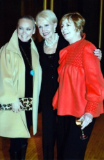 With Hazel Barr and Abra Wilkin
