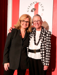 Bonnie Hunt with honoree/philanthropist Ann Lurie