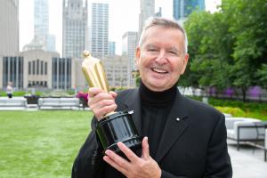 Michael Kutza holds Lifetime Achievement Award at Chicago Intl. Film Fest Summer Gala