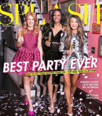 Splash cover featuring Andrea Levoff, Jennifer Worman and Ceta Walters
