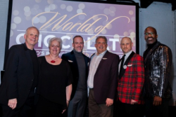 Co-chairs Robert Neubert, Jill Allread, Glen Pietrandoni, AIDS Fndtn. CEO John Peller and co-chair Paris Mullen
