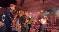 Ken Arlen and his Evolution Orchestra get down with Bruno Mars!
