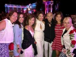 With Nora Dunn, Tracey Tarantino DiBuono, Linda Yu, Sylvia Perez, Frances Renk and Peach Carr