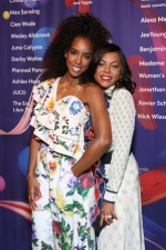 Kelly Rowland and Taraji P. Henson