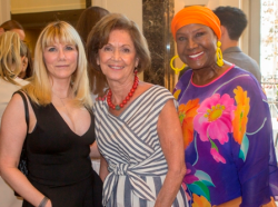 Pam Capitanini, Myra Reilly and Dori Wilson