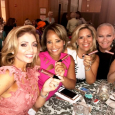 With Stacy Johnson, Dawn Hasbrouch and Sharyl Mackey enjoying the branded SC lip gloss donated by Th