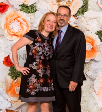 Step-Up national board member Angela Elbert and husband Marc Rosenthal