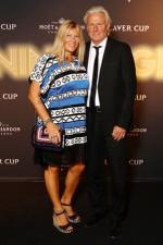 Bjorn Borg and Patricia Ostfeldt