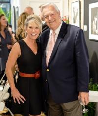 Karin Carlson and Bill Kurtis