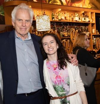 Commissioner Mark Kelly and Elizabeth Neukirch  photo by Robin Subar