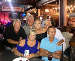 Having good times at Good Times with Carolyn and Wade Teeter, Karen and Paul Weber and Chuck!