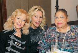 Cookie Cohen, co-chair Sheree Valukas and Vonita Reescer