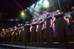 HHW Vocal Arts Ensemble teens opening performance