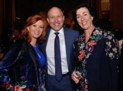 Liz Sharp, Greg Cameron and Marian Jacobson