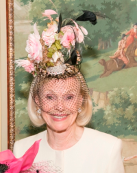 Mamie Walton won an award for her stunning hat.