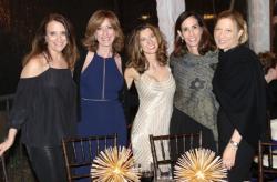 Wendy Levy, Helen Newmark, Meg Racenstein, Victoria Rivkin, Shalva and Dr. Deena Leonard