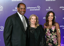 Richard Dent, Princess Yasmin Aga Khan and DeEtta Jones
