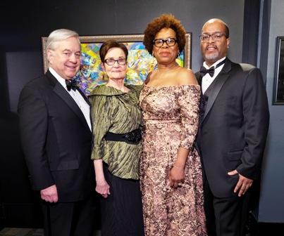 #1--MSI Pres-CEO David Mosena and wife Pat Mosena with co-chair Cheryl Harris and husband Brian Harris