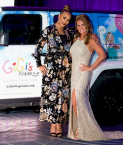 Vivica A. Fox with Nancy Gianni