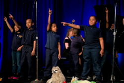 Gala performers Joseph Lovette Elementary School students